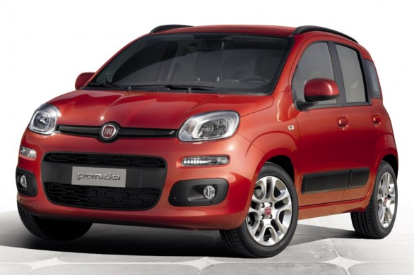 Fiat Panda, small car used by rent a car companies